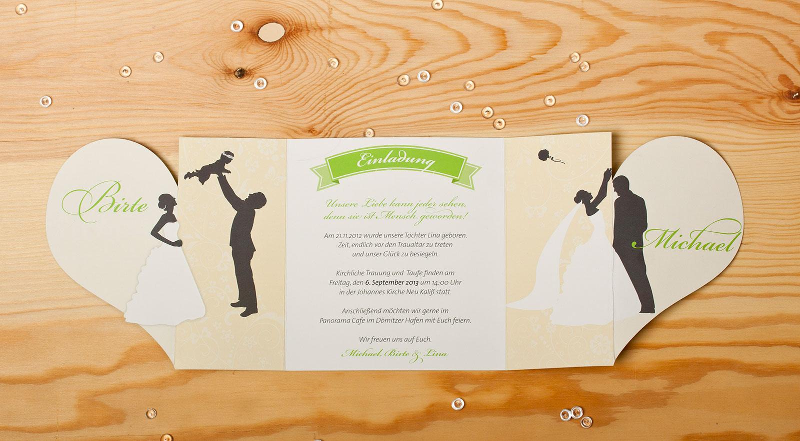 Hochzeit & Taufe vereint