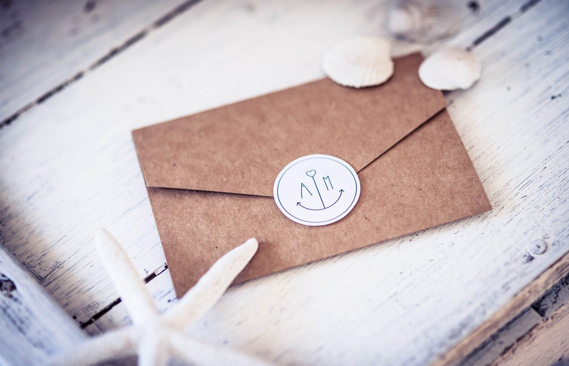 Pocketfoldkarte aus Kraftpapier